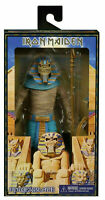 "Iron Maiden Powerslave Pharaoh Eddie 8"" 20 cm Clothed Action Figur NECA"