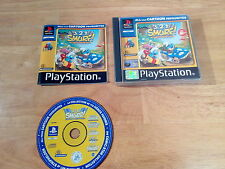 PlayStation 1 ps1 3 2 1 GRANDE PUFFO RACING il disco è eccellente UK