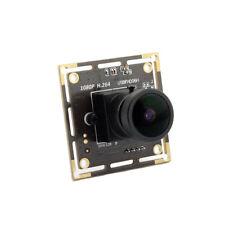 1920*1080 USB Sony IMX322 Security Camera Module 170 Fisheye Lens Low Light YUY2