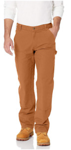 Men's Rugged Flex Relaxed Fit Duck Dungaree Carhartt Double front 103334 []