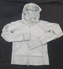 ABERCROMBIE Girls (Large)Gray Hoodie Cotton/Spandex Blend All Season Sweat Shirt
