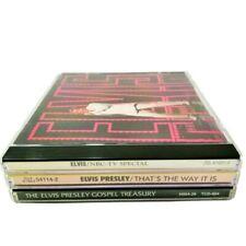 Elvis Presley Lot of 3 CDs NBC Special Way it Is Gospel Treasury
