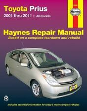 2001-2011 Hayne Toyota Prius Repair Manual