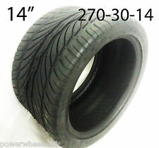 "TQU28 14"" REAR TYRE SPY 350 ROAD LEGAL QUAD BIKE TYRE LOW PROFILE 270-30-14"