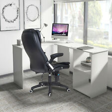 More details for l-shaped corner desk computer gaming desk pc table home office desk workstation