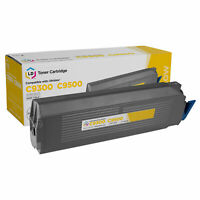 LD 41963601 Type C5 Yellow Laser Toner Cartridge for Okidata Printer