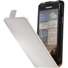 Artificial Leather Case for Samsung Galaxy S2 Flip-Case white