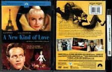 DVD Paul Newman A NEW KIND OF LOVE Joanne Woodward Maurice Chevalier OOP R1 NEW