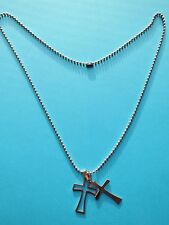 Markenlose Modeschmuck-Halsketten aus Edelstahl mit Glücks-Themen