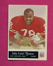 1965 PHILADELPHIA  # 181 49 ERS JL THOMAS  ROOKIE NRMT CARD (INV# A5030)