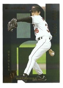 MIKE MUSSINA 1997 Donruss GOLD PRESS PROOF parallel 1 of 500 Yankees Orioles MLB
