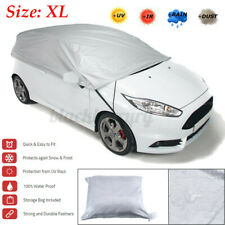 Universal Windshield Half Car Cover Sun Rain Snow Dust UV Protection