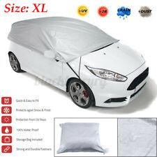 Universal Windshield Half Car Cover Sun Rain Snow Dust UV Protection