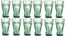 12 CocaCola Gläser 0,2 l in transparent Coca Cola Glas Set Trinkglas Konturglas