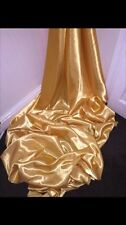 "1 MTR GOLD SATIN LINING FABRIC...45"" WIDE £1.50"