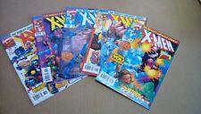 X- Men 1991 series #'s 66-70(Marvel)1997 -- ZERO TOLERANCE -- Avg VF+ or better
