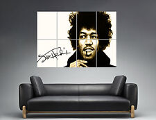 Jimi Hendrix Legend Guitarist Rock Musik Wall Art Poster Great format A0