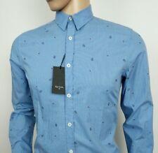 Paul Smith Men Slim Fit Shirt Mainline PS Peace Symbol Sz S Chest 38 New RRP£129
