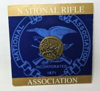 VTG New National Rifle Association NRA Gun Brass We the People Lapel Pin TT20