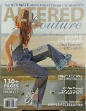 Altered Couture Feb Mar Apr 2017 Spring Forward DIY Trends FREE SHIPPING sb