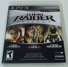 Tomb Raider Trilogy (Sony PlayStation 3) Ps3 Cib Complete Tested