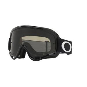 Oakley O-Frame MX Motocross Goggles - Jet Black w/Dark Grey Lens