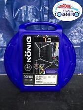 Catene da neve Konig Thule T9 065 9mm per pneumatici R14 R15 R16