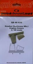 Quickboost 1/48 Hawker Hurricane Mk. I Engine Covers # 48436