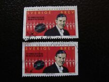 SUEDE - timbre yvert et tellier n° 2062 x2 obl (A29) stamp sweden (E)