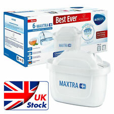 Brita MAXTRA+ Universal Water Filter Cartridges, Pack of 6 - White