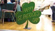 2 Ft. Shamrock ~ St. Patrick's Day Yard Art Decoration