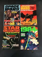 SPACE WARS #1 STAR ENCOUNTERS 1984 SCI-FI MAGAZINE LOT STAR WARS MATURE READERS
