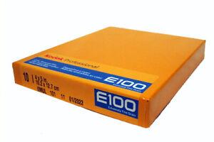 Kodak EKTACHROME E100 5x4 Slide Reversal Film DATED 02/2022