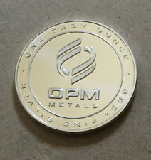 One Ounce ( 1 Oz. ) OPM ( Ohio Precious Metals ) .999 Fine Silver Round