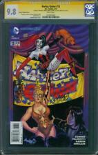 Harley Quinn 13 CGC 3XSS 9.8 Variant Conner Palmotti Hardin Suicide Squad sequel