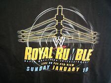 2003 Royal Rumble T-Shirt WWE WWF XL Extra Large Brock Lesnar Boston MA