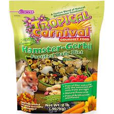 F.M. Brown's Tropical Carnival Natural Hamster-Gerbil Food, No Filler Seed, 2 lb