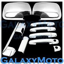 05-11 TOYOTA TACOMA Chrome Mirror+4 Door Handle+Tailgate Camera hole Cover