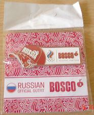 GIOCHI OLIMPICI DI LONDRA 2012-Bosco: il funzionario la Russia Outfitter PIN BADGE.