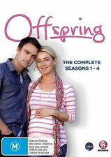 Offspring : Series 1-4 (DVD, 2013, 13-Disc Set) Brand New Region  4