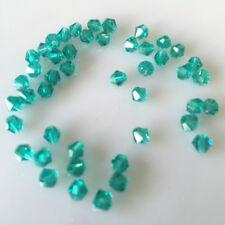 Free shipping 100-1000pcs swarovski Crystal 4mm 5301#Bicone Beads YOU Pick color