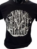 Dark Forest T-Shirt Mens fantasy alice woodland gothic goth yeti magical owl