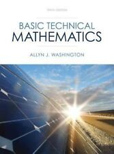 Basic Technical Mathematics by Allyn J. Washington (2013, Hardcover)