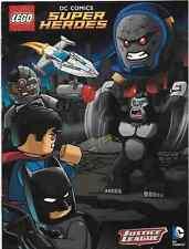 Super Heroes Lego Rare Giveaway Promo Dc Universe Justice League Mini Comic