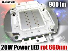 1 Stück 20W Power LED rot 660nm 900lm Uf=20V, Imax=700mA Planzenlampe