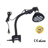 """15"""" Adjustable E27 Gooseneck Holder Clamp For LED Reef Lighting Coral Refugiums"""