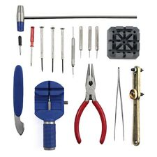 Watch Repair Tool Kit with Link Remover Opener Spring Bar Band Pin Complete Set