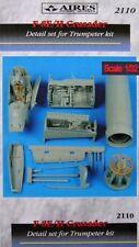 Aires 1/32 F-8E/II Crusader conjunto de detalle para Trumpeter KIT # 2110