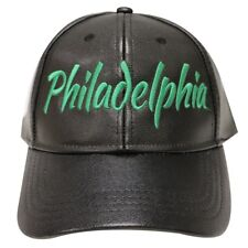 Philadelphia Eagles Inspired Faux Leather Cap New With Tags Super Bowl Bound