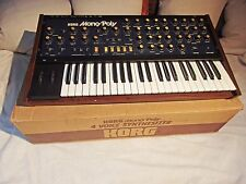 Vintage Korg MP-4 Mono/Poly MONOPOLY Analog Synthesizer analogue synth w/BOX!